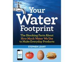 Check out the Water Footprint of your celebration. The Shocking Facts About How Much Water We Use to Make Everyday Products. Get about and Book by Stephen Leahy at Firefly Books Water Footprint, True Cost, World Water, Shocking Facts, Slice Of Bread, Book Show, My Escape, Care About You, Goods And Services