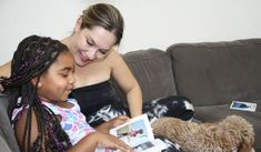 """""""We often take time as a family to reflect on how we got where we are, and Chatbooks helps make this possible."""" Open Adoption, Make You Smile, Photo Book, Memories, Mom, Children, Hair Styles, Beauty, Life"""