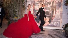 Beatrice wowed at the 2016 Rose Ball with husband Pierre Casiraghi-Monaco Rose Ball 2016 in aid of the Princess Grace Foundation