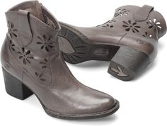 Born Ivy Boots - Women's - 2014 Closeout - Floral cut outs are fun!