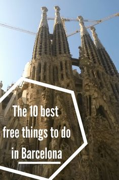 The 10 best free things to do in Barcelona.