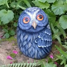 Beautiful Stone Owl