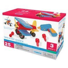 Battat Take Apart Airplane.  List Price: $27.99  Sale Price: $24.95  More Detail: http://www.giftsidea.us/item.php?id=b000n5qnsk