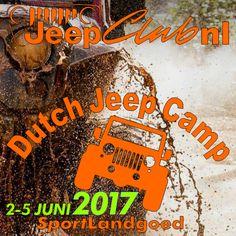 DJC 2017 Jeep Camping, Dutch, Dutch Language