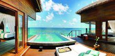 Guestroom at  Dhevanafushi Maldives Luxury Resort #MaldivesTravel