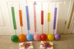 Balloon Popping Meter Chart This week I made a balloon meter to check if the children were ready for the Primary Program.  As the children sang a song, someone pulled the ribbon that was attached…