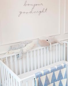 Baby boy nursery: http://www.stylemepretty.com/living/2015/09/18/eclectic-baby-boy-nursery/ | Photography: Hallie Duesenberg - http://www.hallieduesenberg.com/