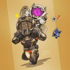 Titan giving hunter piggy back ride >.<