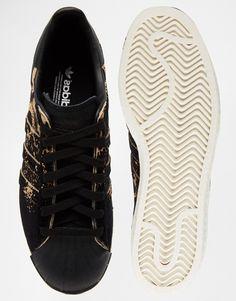 adidas Originals Superstar 80's Ombre Animal Print Sneakers