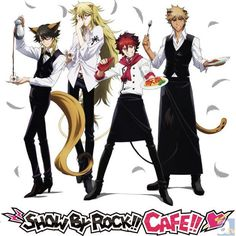 """[News] Shibuya Parco """"SHOW BY ROCK !!"""" collaboration cafe appeared! Limited collaboration menu original goods also released #SB69 #ShinganCrimsonZ http://www.animate.tv/news/details.php?id=1437550171…"""
