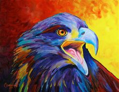 Juvenile Bald Eagle - Original Eagle PRINT 11 x 14 - By Corina St. Martin