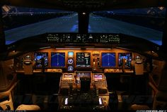 The Boeing 737-800 Cockpit