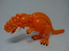 Balloon art by Masayoshi Matsumoto. dinosaur2014.12.29