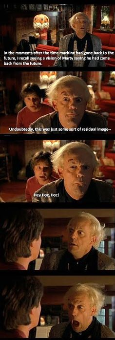 The Inappropriate Thesaurus: Back To The Future Funny Faces