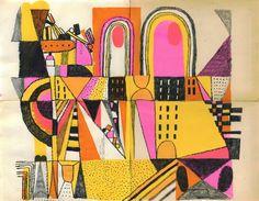 Bernstein & Andriulli - Illustrators - Josh Cochran - Drawings & Paintings