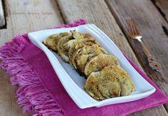 Finocchi+gratinati+al+forno+-+ricetta+vegan