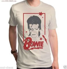 1e235e4665 Aladdin David Bowie T-shirt   Men s New Retro Rock Tee