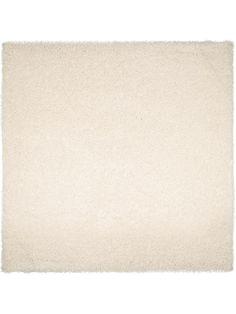 enuta Tapis Shaggy à poils longs / longues mèches  Blanc 200x200 cm - 90€