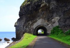 Tunnel in Santa Catarina / Gulf of Guinea, Africa