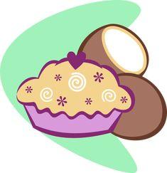 G3 Coconut Cream Cutie Mark (Cartoon Version) by AnScathMarcach