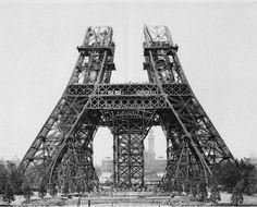 via flavorwire.com | fascinating construction photos | eiffel tower