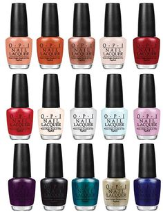 OPI Venice Fall Winter 2015 Collection – All Photos