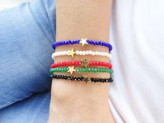 Friendship bracelets turkish jewelry star charm by Handemadeit, $12.90