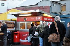 """When you travel to Iceland on vacation, we argue that an absolute must is to try our Icelandic hotdog. A very popular joint for this activity is a the famous hotdog stand Bæjarins Beztu Pylsur in Reykjavík, which he former US president Bill Clinton paid a visit on a trip to Iceland. He liked the classic """"Ein með Öllu"""" (one with everything), but has a hotdog named after him, """"The Clinton"""": One with only mustard and ketchup. Get in line at the harbor!"""
