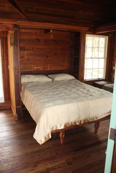 Painted Lady Victorian Tiny House Sleeping area