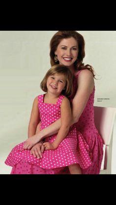 Bonita moda para mama e hija