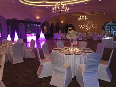 Vaughn-Gabourel at Sontera Country Club Main Ballroom 030715 Stage Lighting, Club, Table Decorations, Bliss, Monogram, Wedding, Country, Valentines Day Weddings, Rural Area