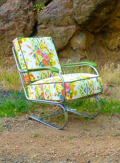 Lloyd Loom Art Deco Rocker