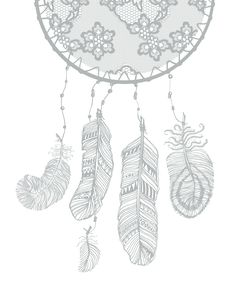 Oh So Lovely Blog: LOVELY LACE DREAM CATCHERS - FREE PRINTABLES