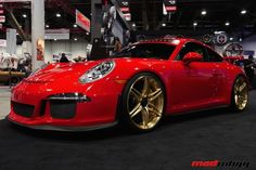 SEMA Porsche GT3 on HRE Wheels...JT