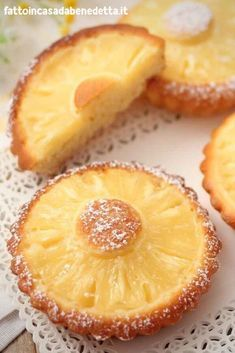 Easy recipe by Benedetta to prepare very soft sweets, which are also perfect pastries for a buffet. Pastry Recipes, Cake Recipes, Cooking Recipes, Mini Desserts, Just Desserts, Creative Food, Food Cakes, Love Food, Italian Recipes