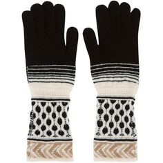 Missoni Women's Knit Gloves ($180) ❤ liked on Polyvore featuring accessories, gloves, missoni, missoni gloves and knit gloves
