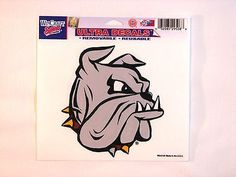 "Minnesota Duluth Bulldogs 5""x6"" Decal"