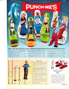 Do You Remember These Things | Do you remember these bounce-back punching bags?