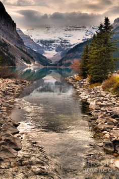 ..Lake Louise, Banff National Park, Alberta, Canada, by Tara Turner..