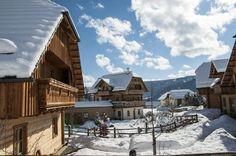 #Skiing #Resort in #