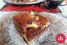Recept na kakaovo-tvarohové rezy: Každý si po nich prsty oblíže! - KAMzaKRASOU.sk Pancakes, Breakfast, Food, Morning Coffee, Meal, Crepes, Essen, Pancake, Hoods