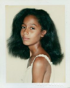 •|• Tracee Ross by Andy Warhol