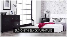 Brooklyn Black Furniture | Bedroom Furniture Direct