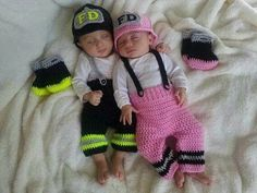 Boy/Girl Firefighter Outfits