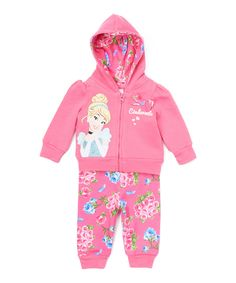 Look what I found on #zulily! Cinderella Hoodie & Sweatpants - Infant by Disney Baby #zulilyfinds