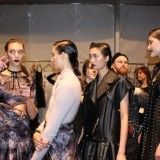 New York Fashion Week: Backstage with the Models at Zimmerman Winter 2014 Runway Show