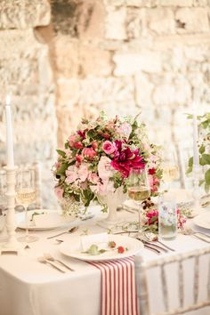Rustic Elegance Wedding Inspiration in England at Almonry Barn