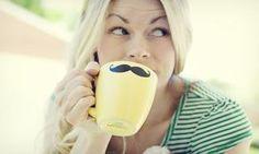 Make a mustache mug!