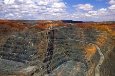The KCGM Super Pit in Kalgoorlie, Western Australia, is the largest gold open-cit pit in Australia.