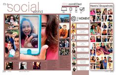 5 tips on Spreading the social media virus social-media-stra… East Central High School, San Antonio, Texas/Student Life/Social Media Student Life Yearbook, Yearbook Mods, Teaching Yearbook, Yearbook Class, Yearbook Pages, Yearbook Spreads, Yearbook Covers, Yearbook Layouts, Yearbook Design